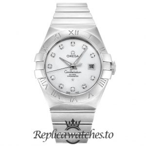 Omega Constellation Replica 123.10.31.20.55.001 White Dial 31MM