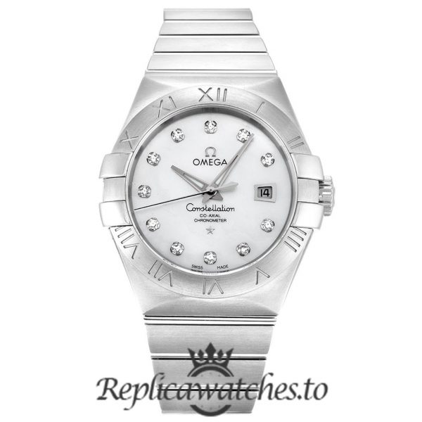 Omega Constellation Replica 123.10.31.20.55.001 White Dial 31MM