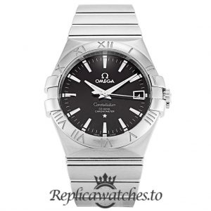 Omega Constellation Replica 123.10.35.20.01.001 Black Dial 35MM