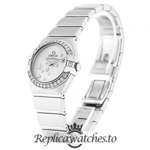 Omega Constellation Replica 123.15.24.60.05.003 White Dial 24MM