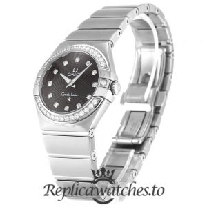 Omega Constellation Replica 123.15.27.60.51.001 Black Dial 27MM
