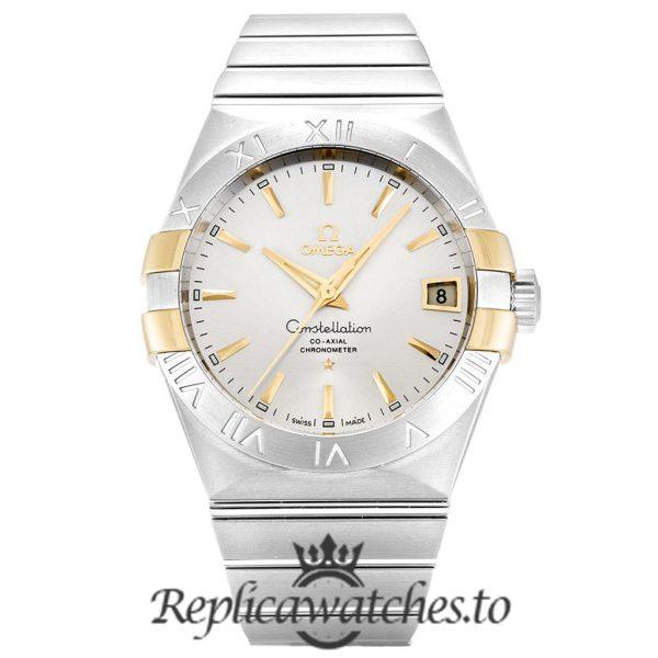 Omega Constellation Replica 123.20.38.21.02.005 Silver Dial 38MM