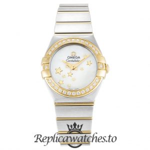 Omega Constellation Replica 123.25.24.60.05.001 White Dial 24MM