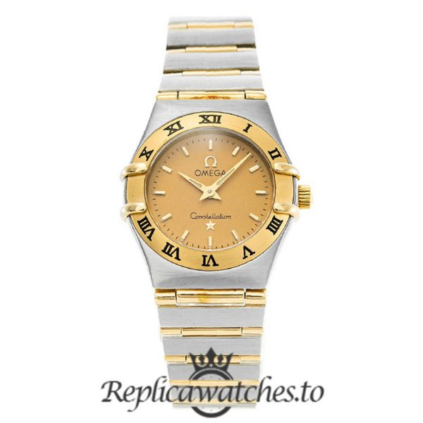 Omega Constellation Replica 1262.10.00 Champagne Dial 22.5MM