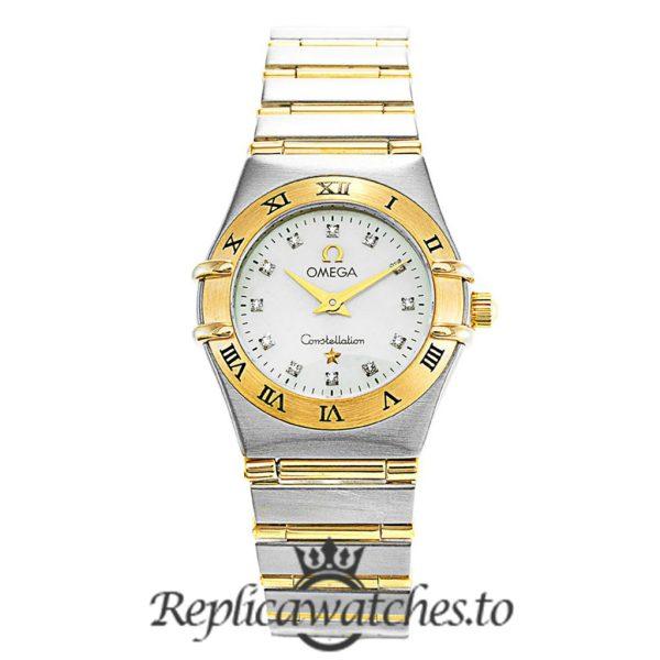 Omega Constellation Replica 1262.75.00 White Dial 22.5MM