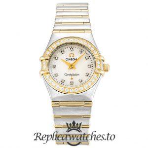 Omega Constellation Replica 1267.75.00 White Dial 22.5MM