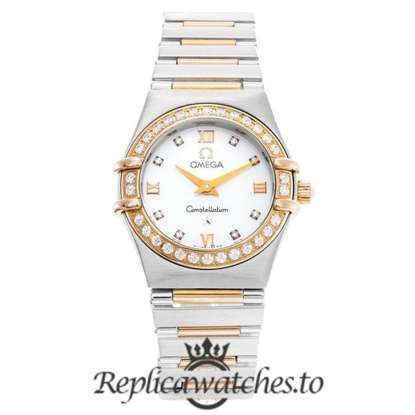 Omega Constellation Replica 1360.76.00 White Dial 22.5MM