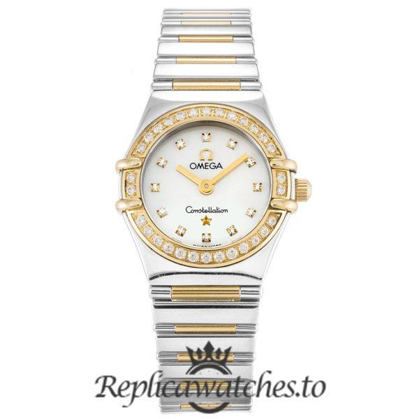 Omega Constellation Replica 1365.75.00 White Dial 22.5MM