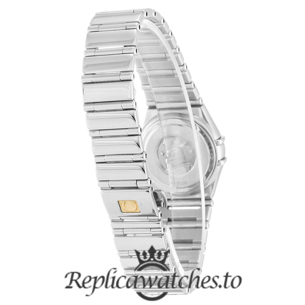 Omega Constellation Replica 1465.71.00 White Dial 22.5MM