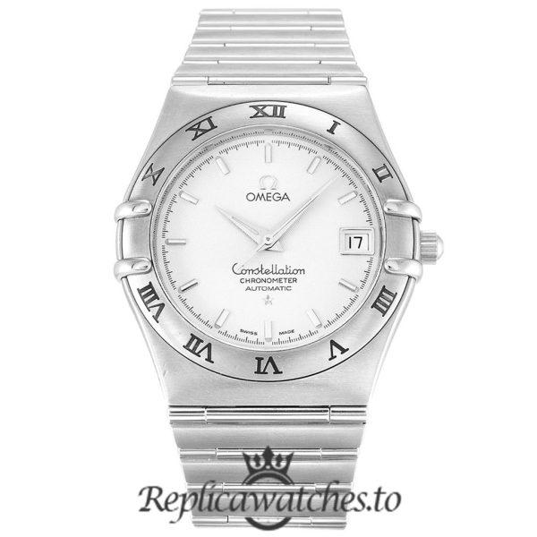 Omega Constellation Replica 1502.30.00 White Dial 35.5MM