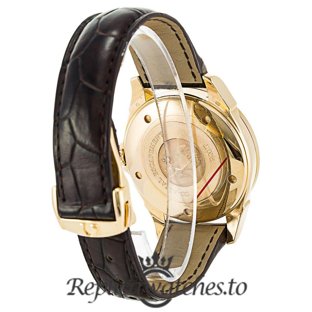 Omega De Ville Replica 4133.30.00 Silver Dial 38MM