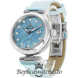 Omega De Ville Replica 425.32.34.20.57.003 Blue Dial 34MM
