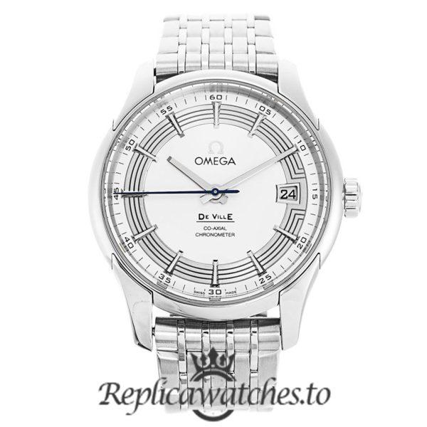 Omega De Ville Replica 431.30.41.21.02.001 Silver Dial 41MM