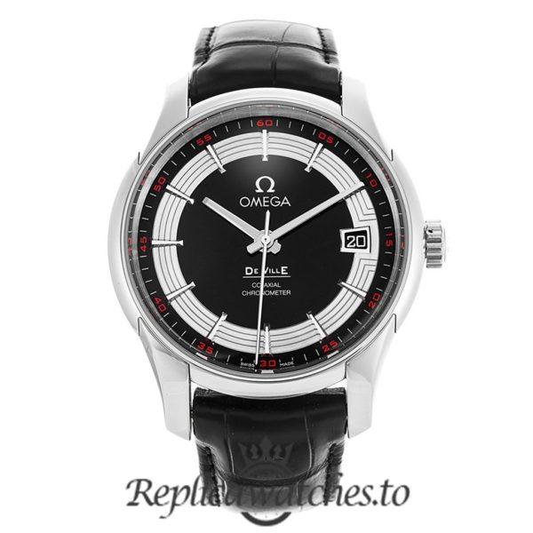 Omega De Ville Replica 431.33.41.21.01.001 Black Dial 41MM