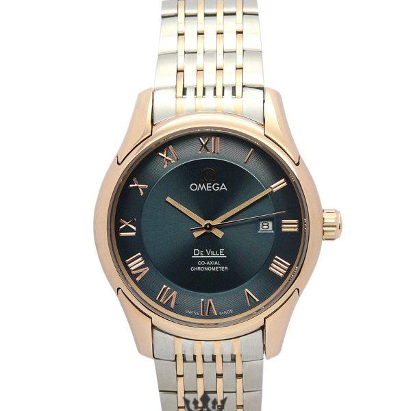 Omega De Ville Replica 433.50.41.21.13.001 Green Dial 41MM