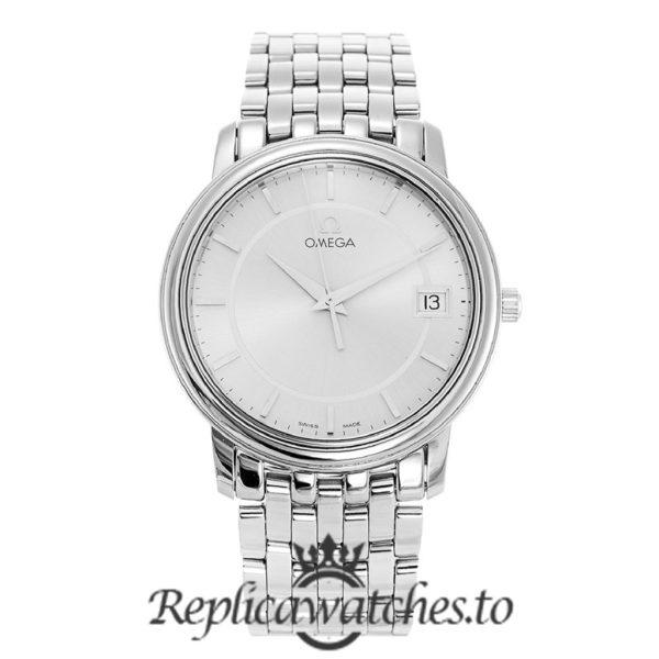 Omega De Ville Replica 4510.31.00 Silver Dial 34.4MM