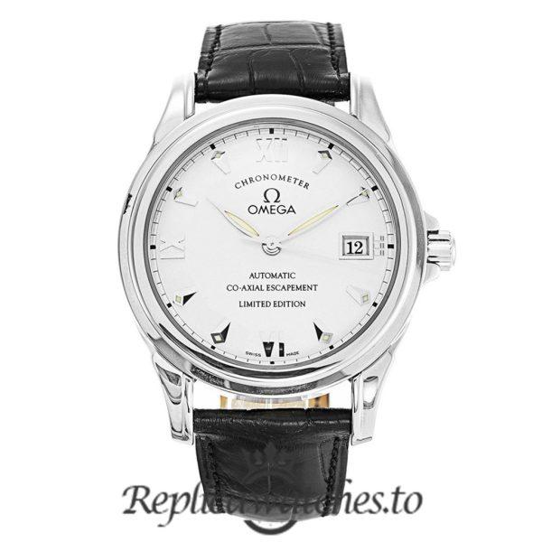 Omega De Ville Replica 5941.31.31 Silver Dial 38MM