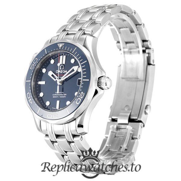 Omega Seamaster Replica 212.30.36.20.03.001 Blue Bezel 36MM