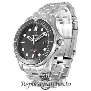 Omega Seamaster Replica 212.30.41.20.01.003 Black Bezel 41MM
