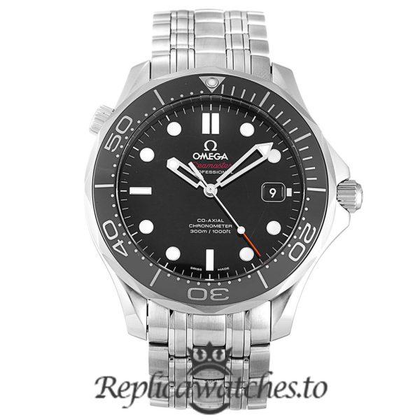 Omega Seamaster Replica 212.30.41.20.01.003 Black Bezel 41MM