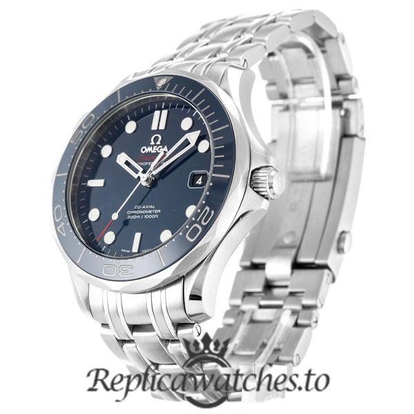 Omega Seamaster Replica 212.30.41.20.03.001 Blue Bezel 41MM