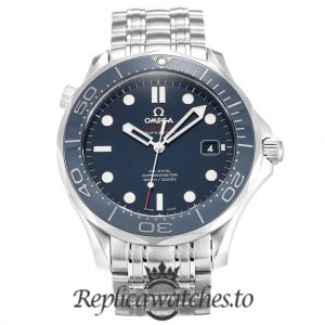 Omega Seamaster Replica 212.30.41.20.03.001 Blue Bezel 41MM