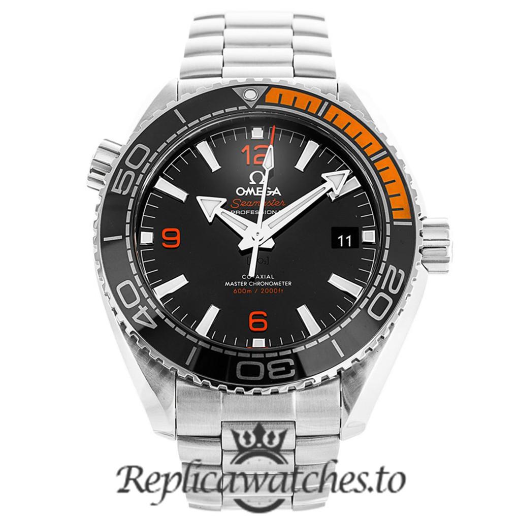 Omega Seamaster Replica 215.30.44.21.01.002 Black Dial 43.5MM