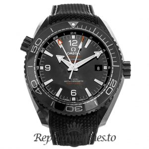 Omega Seamaster Replica 215.92.46.22.01.001 Black Bezel 45.5MM