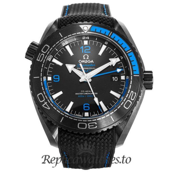 Omega Seamaster Replica 215.92.46.22.01.002 Black Dial 45.5MM