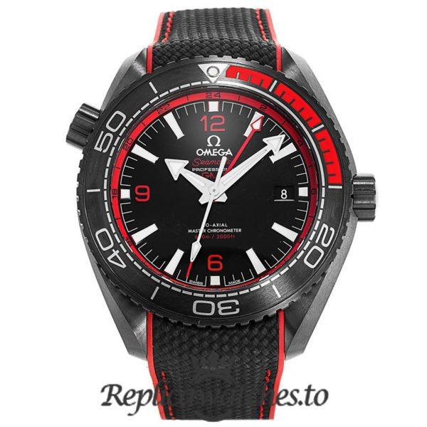 Omega Seamaster Replica 215.92.46.22.01.003 Black Strap 45.5MM