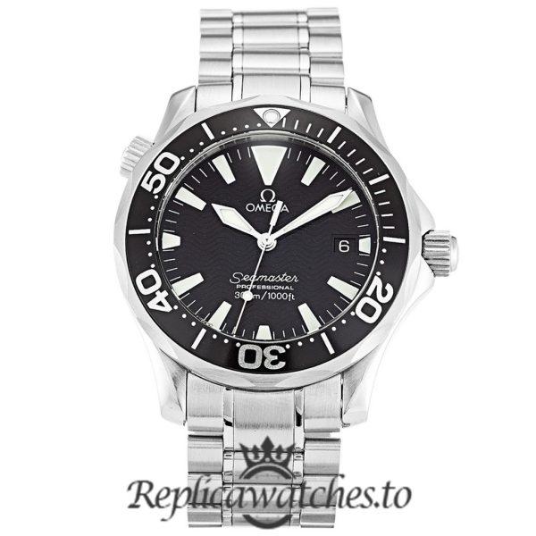 Omega Seamaster Replica 2262.50.00 Black Bezel 36.2MM