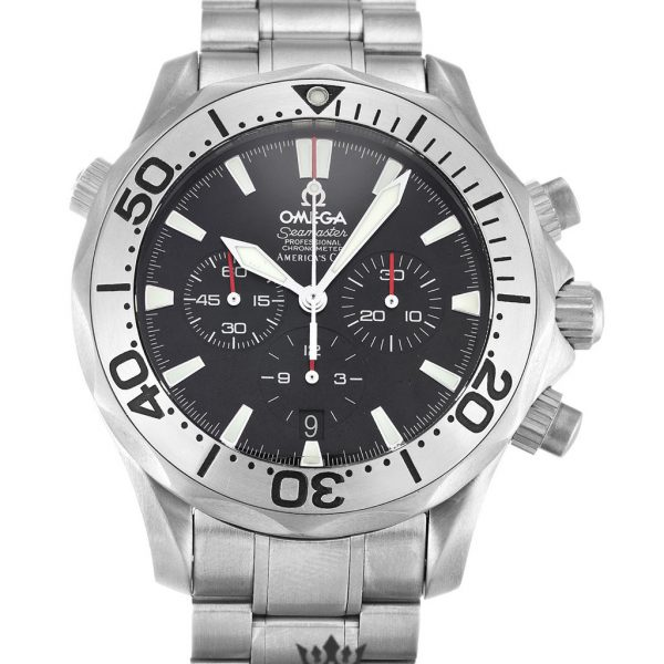 Omega Seamaster Replica 2293.50.00 Black Dial 42MM