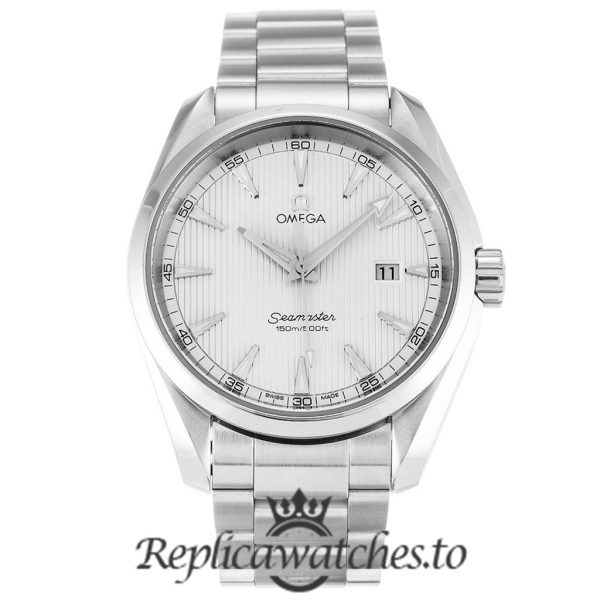 Omega Seamaster Replica 231.10.39.61.02.001 Silver Bezel 38.5MM