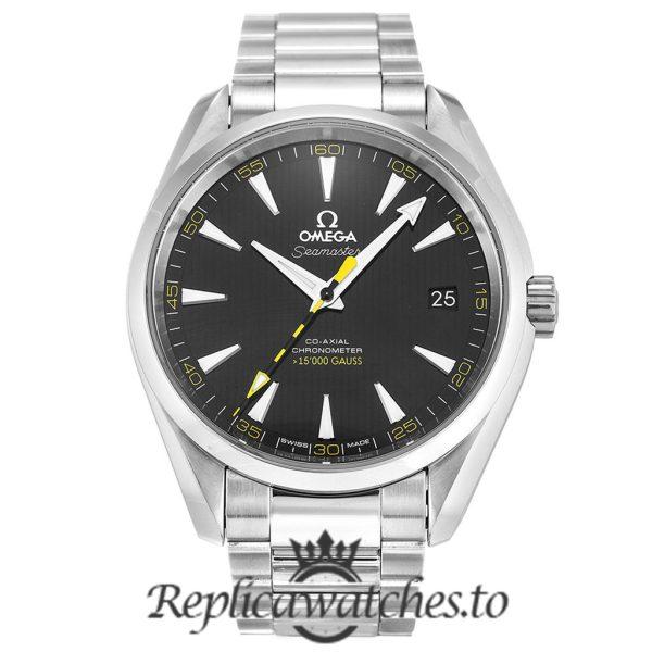 Omega Seamaster Replica 231.10.42.21.01.002 Black Dial 41MM
