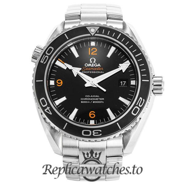 Omega Seamaster Replica 232.30.46.21.01.003 Black Dial 45.5MM