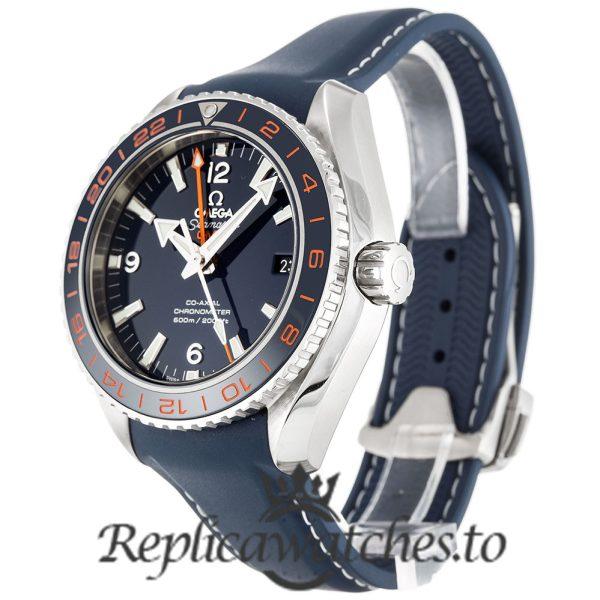 Omega Seamaster Replica 232.32.44.22.03.001 Blue Bezel 43.5MM