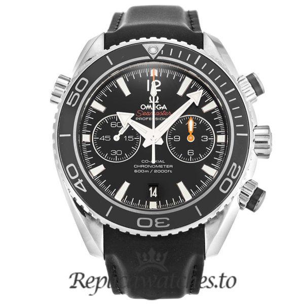 Omega Seamaster Replica 232.32.46.51.01.003 Black Strap 45.5MM