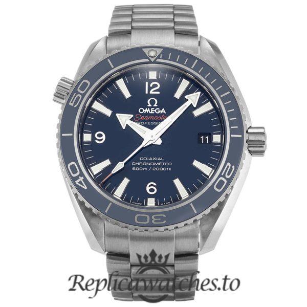 Omega Seamaster Replica 232.90.42.21.03.001 Blue Dial 42MM