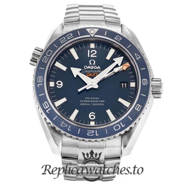 Omega Seamaster Replica 232.90.44.22.03.001 Blue Dial 43.5MM