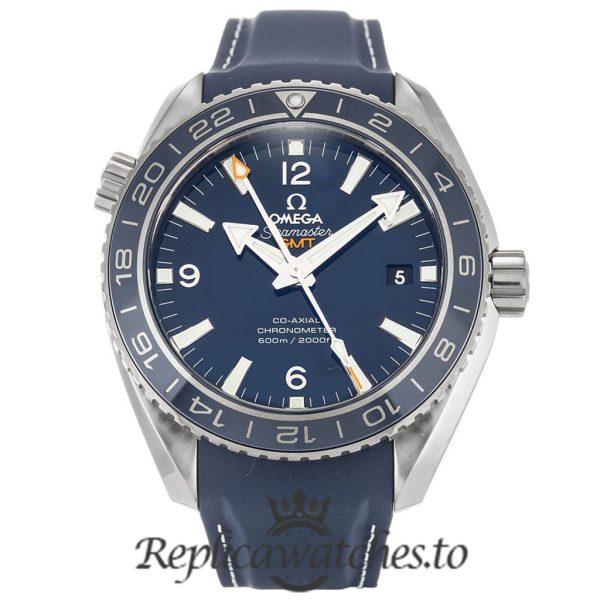 Omega Seamaster Replica 232.92.44.22.03.001 Blue Dial 43.5MM