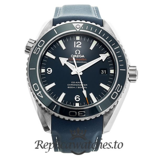 Omega Seamaster Replica 232.92.46.21.03.001 Blue Bezel 45.5MM