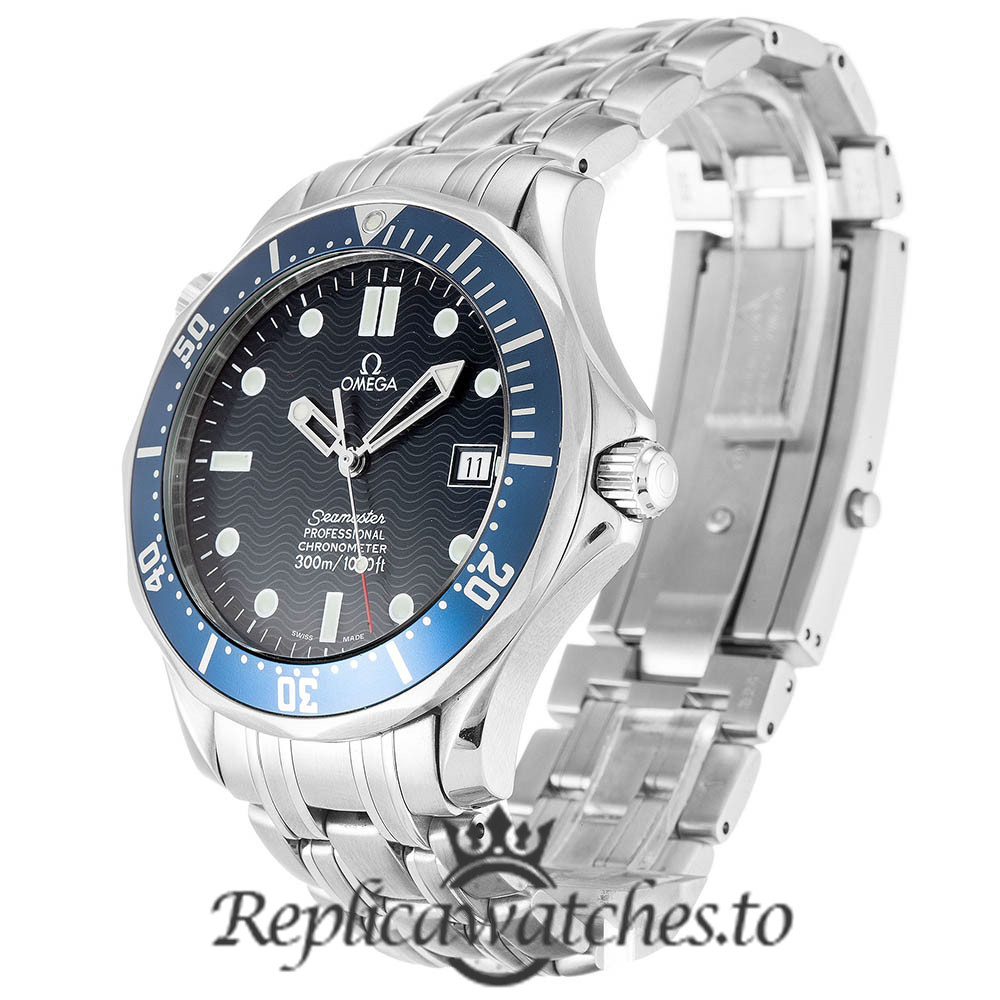 Omega Seamaster Replica 2531.80.00 Blue Bezel 41MM
