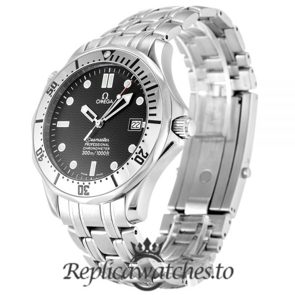 Omega Seamaster Replica 2532.80.00 Black Dial 41MM