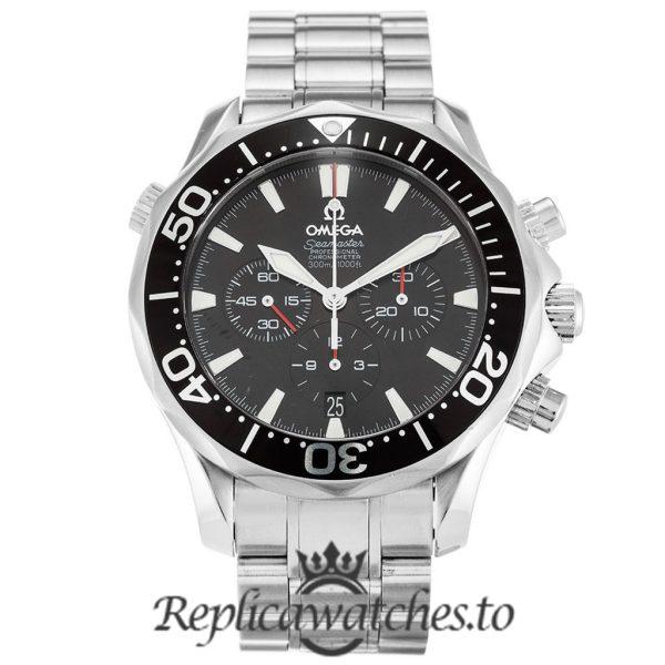 Omega Seamaster Replica 2594.52.00 Black Dial 41.5MM