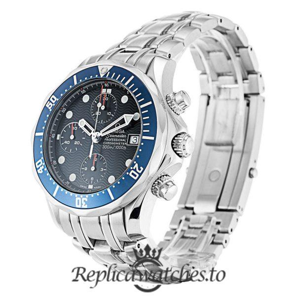 Omega Seamaster Replica 2599.80.00 Blue Dial 41MM