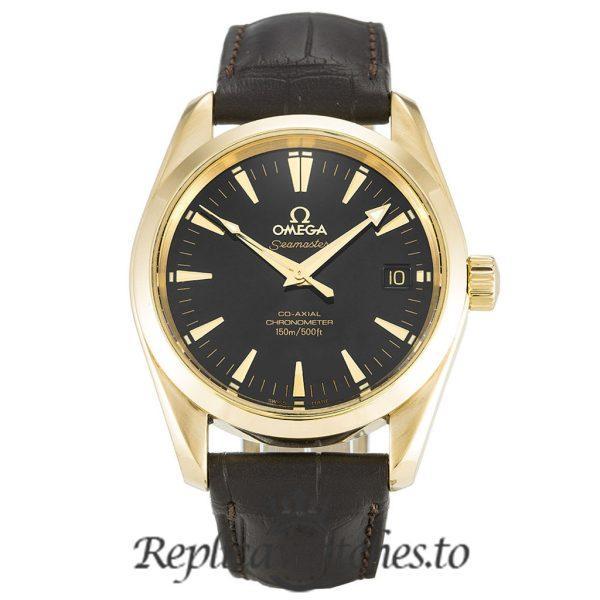 Omega Seamaster Replica 2604.50.37 Black Dial 35MM