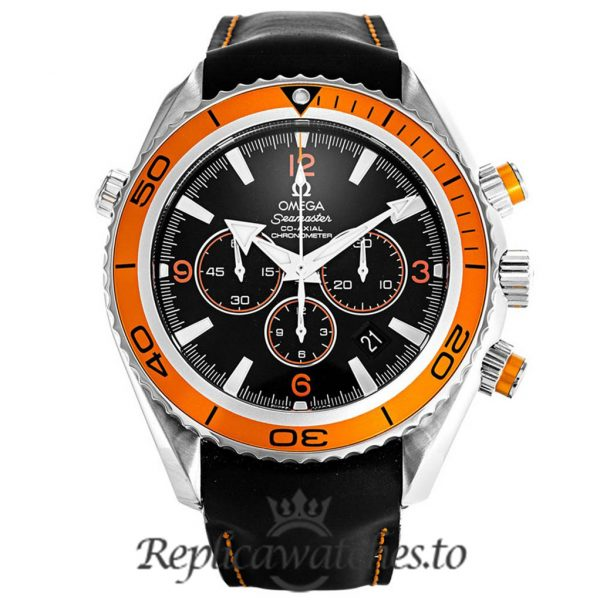 Omega Seamaster Replica 2918.50.82 Orange Bezel 45.5MM