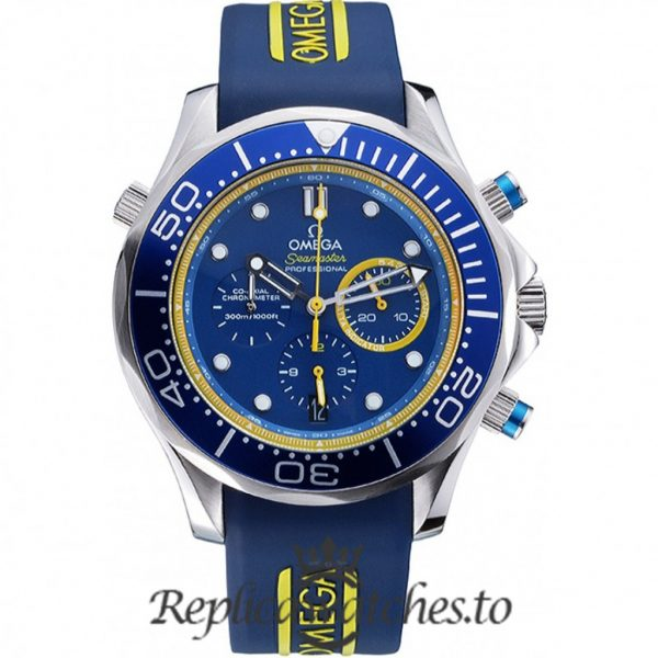 Omega Seamaster Replica 622044 Blue Dial 55MM×47MM