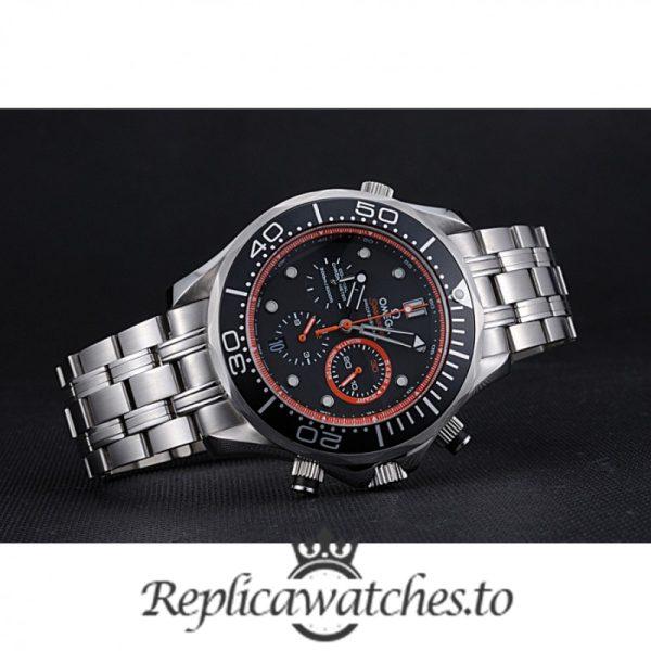 Omega Seamaster Replica 622058 Black Dial 55MM×47MM
