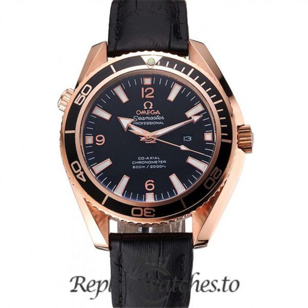 Omega Seamaster Replica 622389 Black Dial 52MM×43MM
